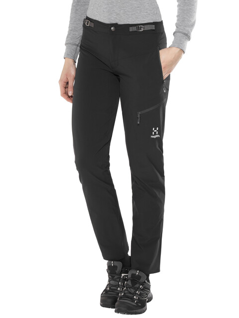 Haglöfs Lizard Pants Women Regular True Black